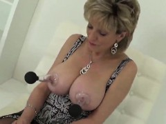 Unfaithful British Mature Lady Sonia Pops Out Her Big Knocke