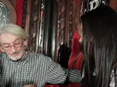 Sexy Teen Likes To Get Fucked By Grandpa Old Man Cums