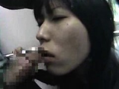 Charming Japanese Girl Puts Her Amazing Blowjob Abilities I