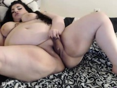bbw valentina with bouncing white ass and phat vagina