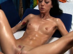 clean shaved pink twat of stunning girl is nailed by ramrod