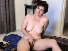 passionate hairy mature strips for suellen from 1fuckdatecom Hot