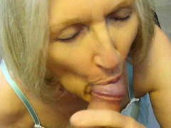 nasty sperm girl sue palmer sucking penis and using toy