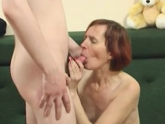 russian mature backdoor with boy