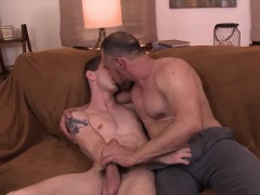 Old And Teen Gay Lovers Intimate Anal Fucking Sex