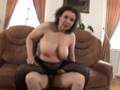Busty Mature Minx Has Her Beaver Slammed