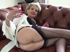 Unfaithful british milf lady sonia exposes her huge boobies