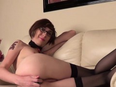 Kinky Slender Spex Femboy Wanks And Toys Ass