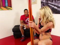 Stripper Milf Receives An Interracial Fucking From A