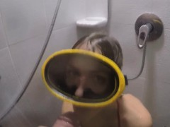 my dirty hobby – katie swallows an xxl penis WWW.ONSEXO.COM