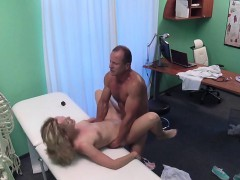 tight muffin blonde patient bangs in hospital WWW.ONSEXO.COM