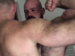 heavy-hairy-bear-cums-during-bareback-fuck