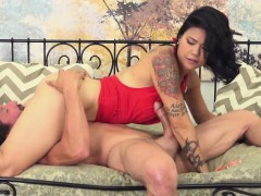 dana-lifts-her-red-dress-up-so-she-can-get-pounded-hard