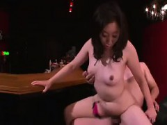 Buxom Japanese Lady Has Her Lover Ramming Her Peach In Ever