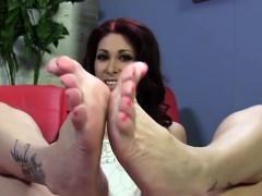 Tiffany Mynx Foot Fetish with BBC