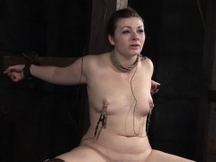 Smalltits Slave Choked And Restrained