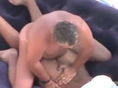 Voyeuring My Nudist Mother And Lover