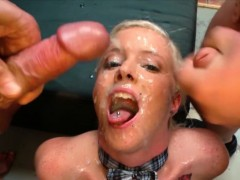 blonde-skinny-bukkake-babe-lucy-gets-cum-covered
