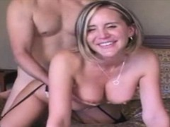 Big titted blonde fucked doggystyle