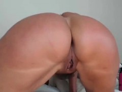 oiled-up-milf-rides-her-dildo-on-webcam