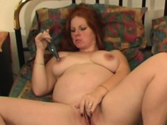 Hot Redhead Milf Plays With Her Sex Toy
