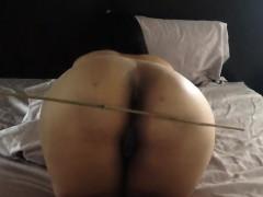 amateur slave butt spanking