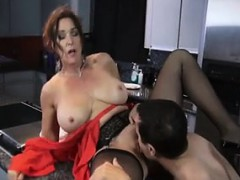 Son have breakfast from mom – Watch Part 2 on my website – Videos XXX Incesto