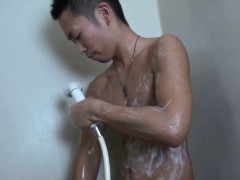 Asian Twink Jizz Covered