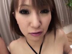 Азиатки Японское Красивое нижнее белье Двойное проникновение фото 2