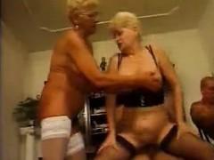 _german Grannies Have Nice Orgy