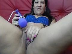 Latin Slut Webcam Masturbation