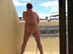 Masturbating On My Balcony