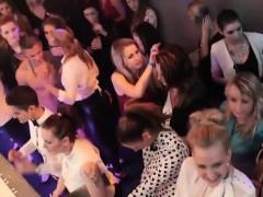 Club Girls Go Wild With Big Rods