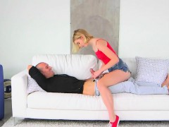 Alexis Fawx and Chloe Couture sharing a massive cocked