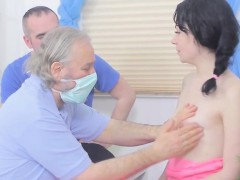 Fella Assists With Hymen Physical And Pounding Of Virgin Tee