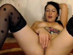 solo gal anjelica in stockings fingering WWW.ONSEXO.COM