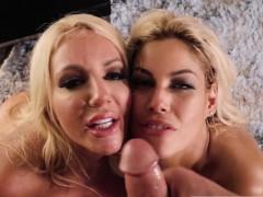 Nicolette Shea & Bridgette B BayWatch