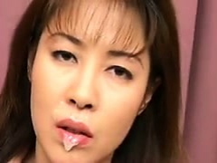 bukkake fetish facial cum woman