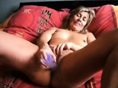 georgie british mature solo backdoor masturbation