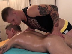 Euro Hunk Stroking Twinks Hard Dick