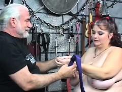 Large Tits Chick Bizarre Slavery In Slutty Home Scenes