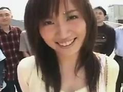 Outdoor Japanese Facial Bukkake
