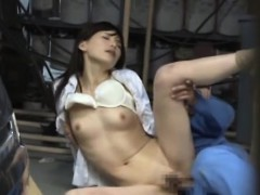 kinky businesswoman takes enjoyment in humping on the job