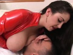 Hawt Femdom-goddess Ties Up Her Guy And Mistreats Him Good