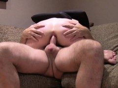 tied up blonde anal penetrated in casting
