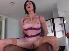 Horny Shemale River Loves Ass Fucking