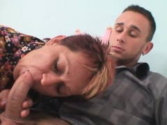 Wife catches him fucking old mother-in-law