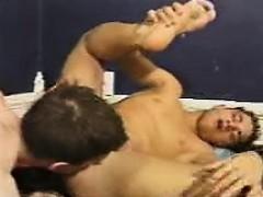 Gay Twinks Having Orgy