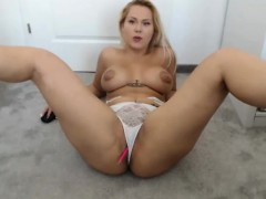 blonde milky tits latina babe wants it p two