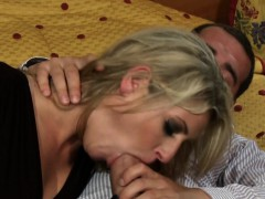 Blonde Kia Winston with silk gloves gets anal | Porn Bios